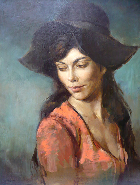 "Sally Trueman ""Black Hat"""