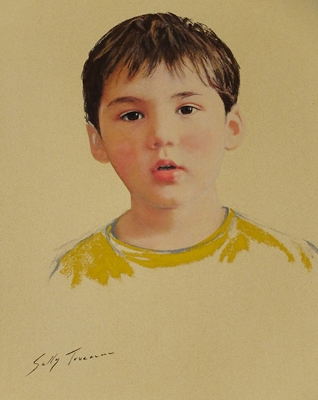 "Sally Trueman ""Yellow Shirt"""