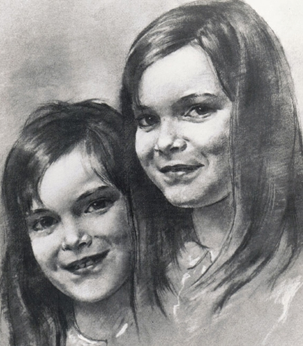 Sally Trueman Double Portrait
